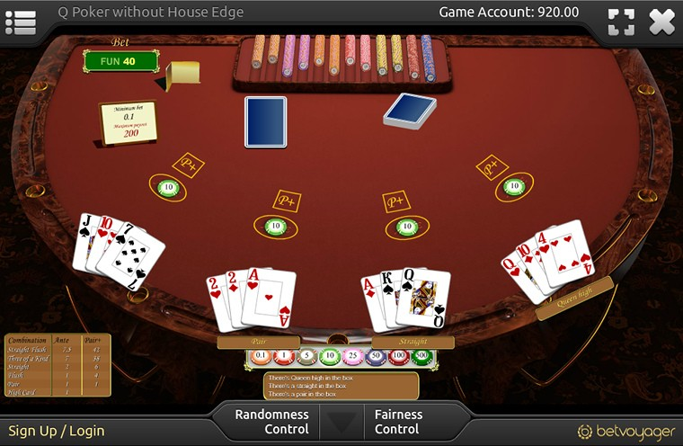 Q Poker Game Rules Features And Payouts Betvoyager Com